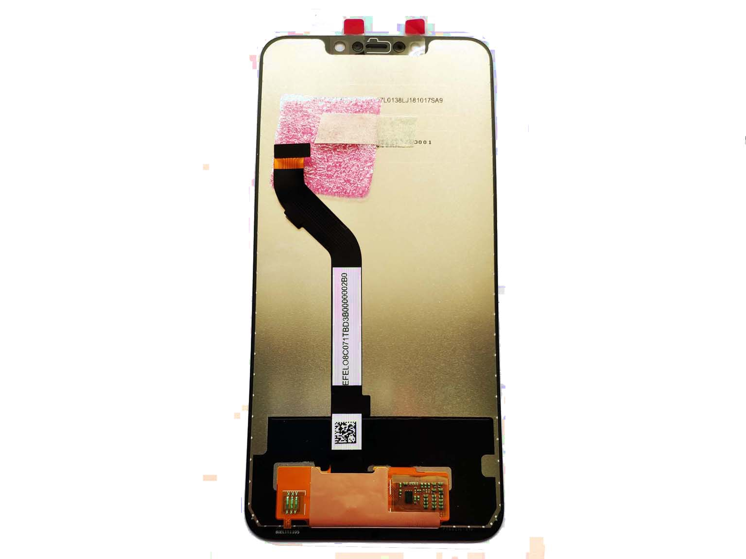 LCD Screen and Digitizer Assembly with Frame for iPhone 6 - White