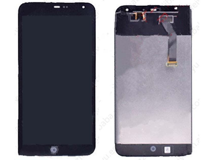 LCD Screen and Touch Screen Assembly for Meizu MX3- Black