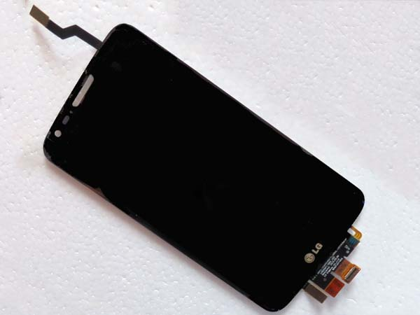 LCD Screen and Digitizer Assembly for LG optimus G2 D800  - Black