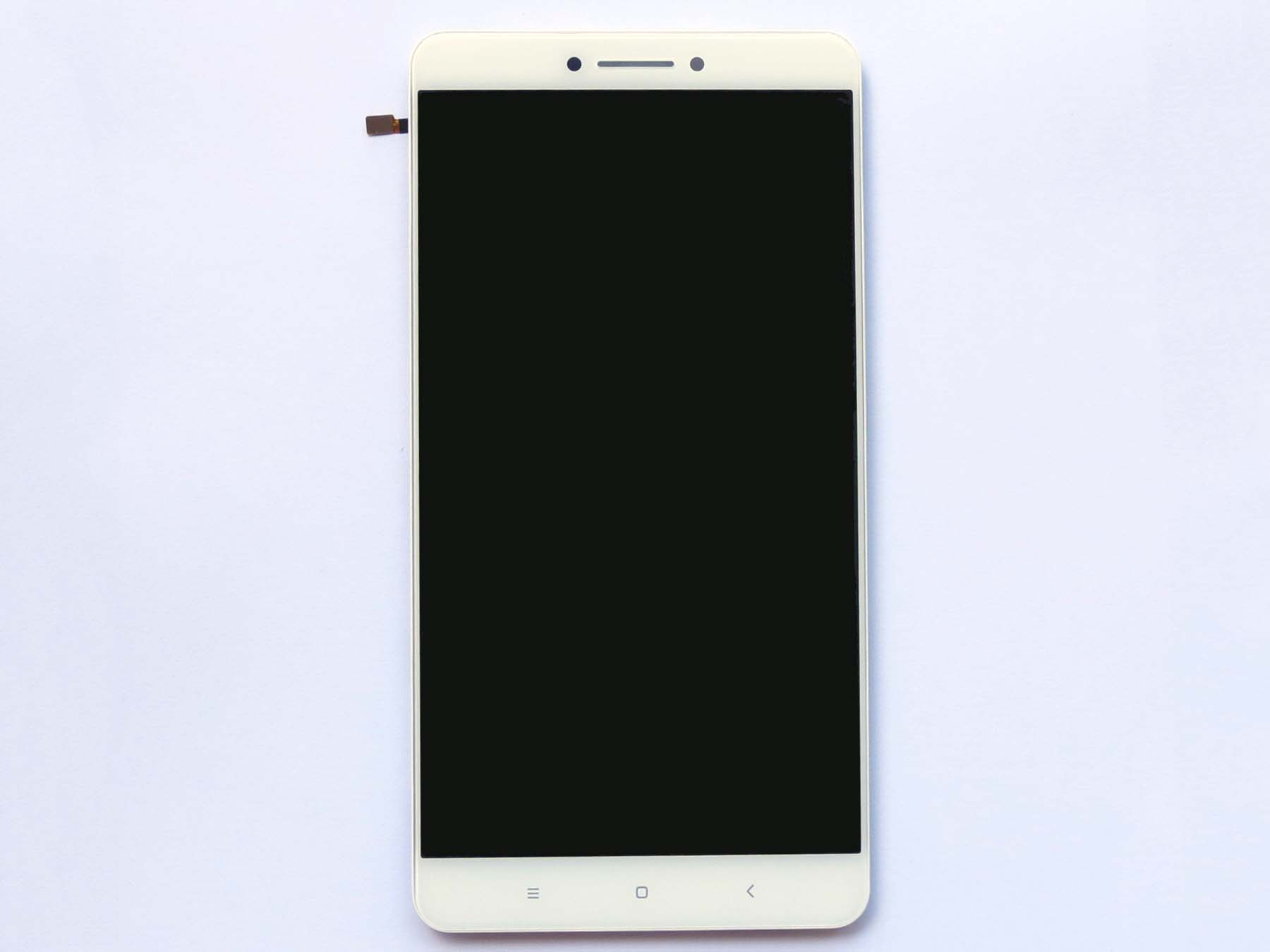 Original Complete screen with front housing for xiaomi max - white