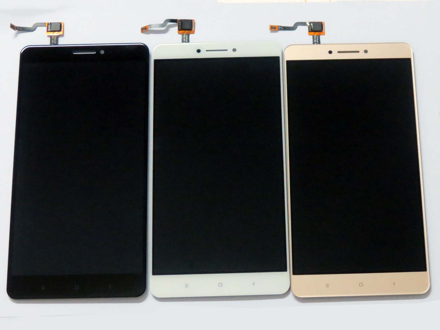 Original LCD Assembly with OEM Touch Screen for xiaomi max – Black & White & Gold