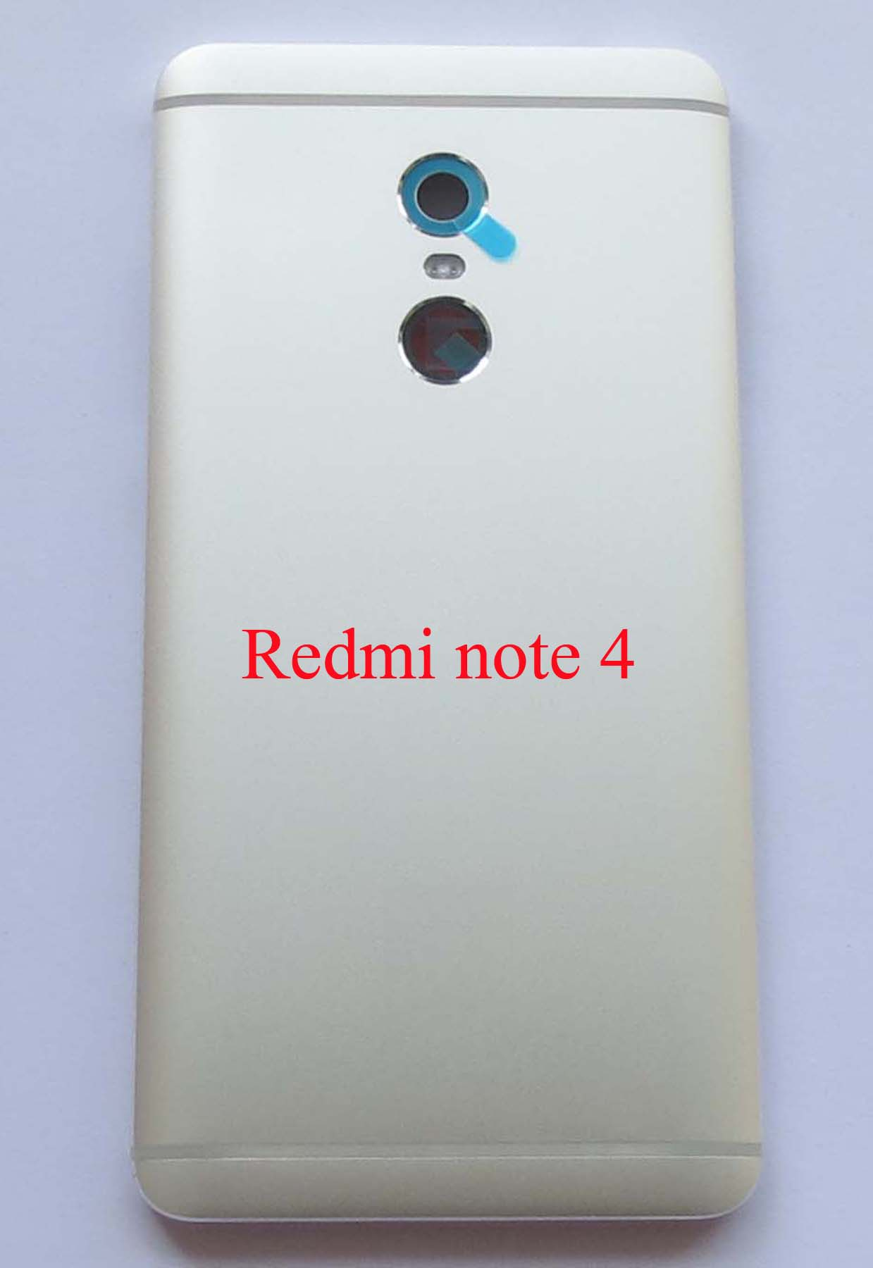 Original MTK version Battery Cover Back Housing Cover for Redmi Note 4-Silver