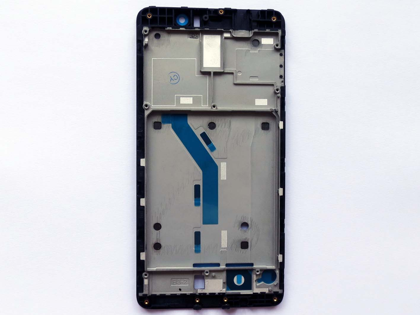Front Frame LCD Supporting Frame Bezel Housing for xiaomi 5s plus-Black