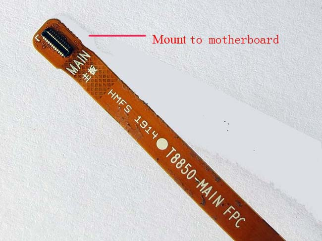 Main Ribbon flex cable FPC for Redmi NOTE Hongmi NOTE