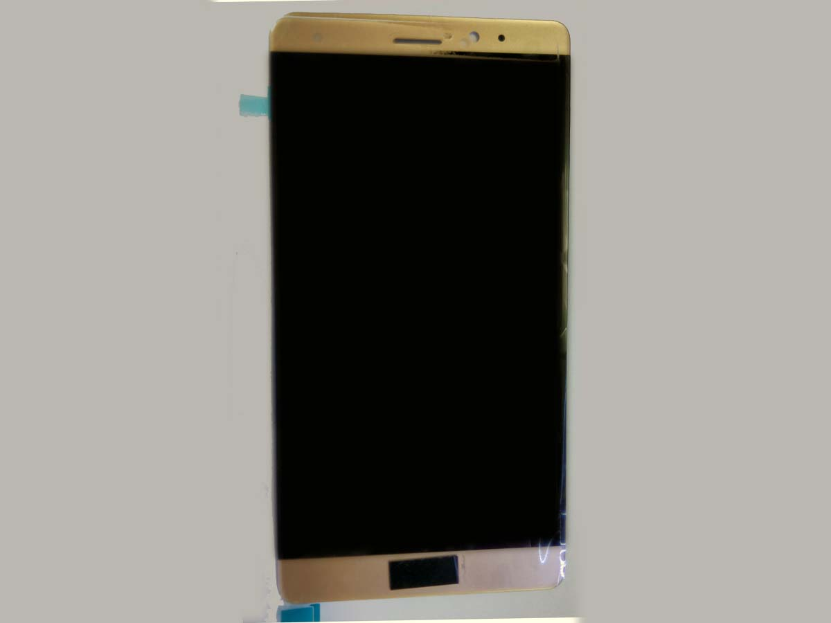Original LCD Screen and Touch Screen Assembly for Huawei mate S- Gold