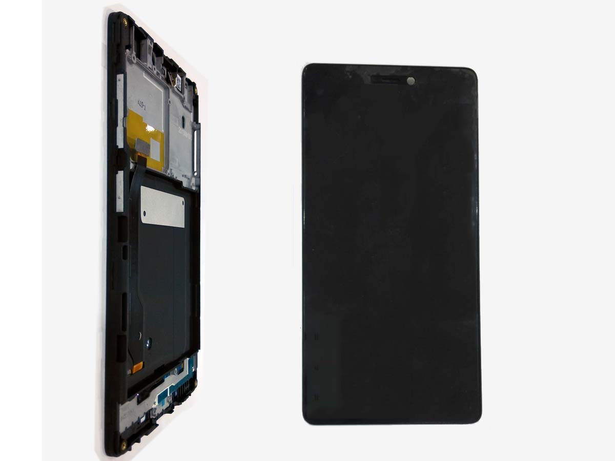 LCD Touch Screen Digitizer Assembly with front Housing for Xiaomi 4C – Black