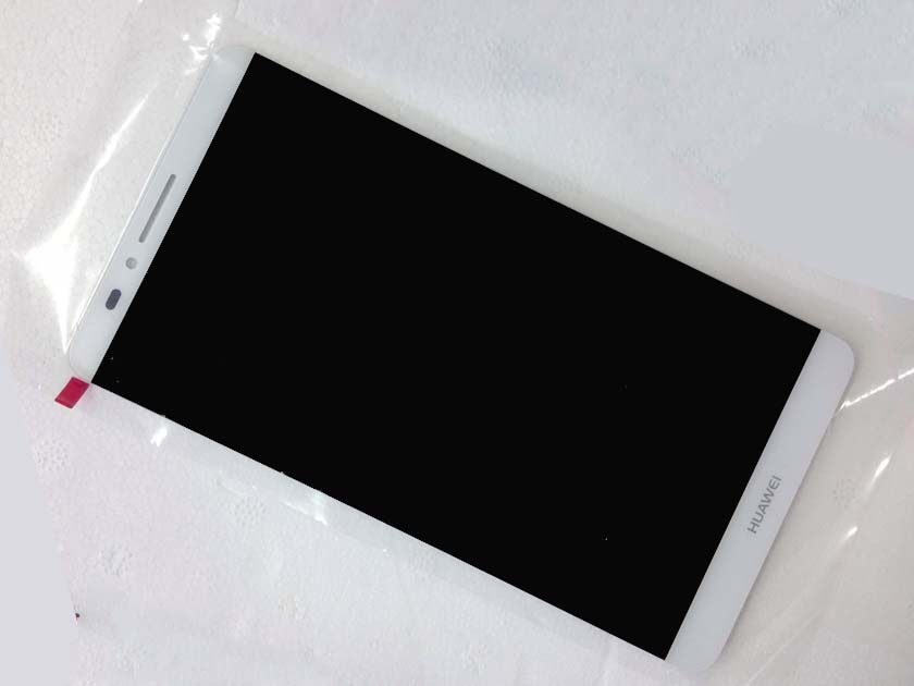 Original LCD Screen and Touch Screen Assembly for Huawei ascend mate 7- White