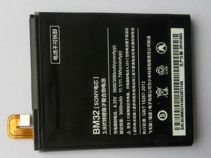 OEM 3000mAh BM32 battery for Xiaomi 4 Mi4