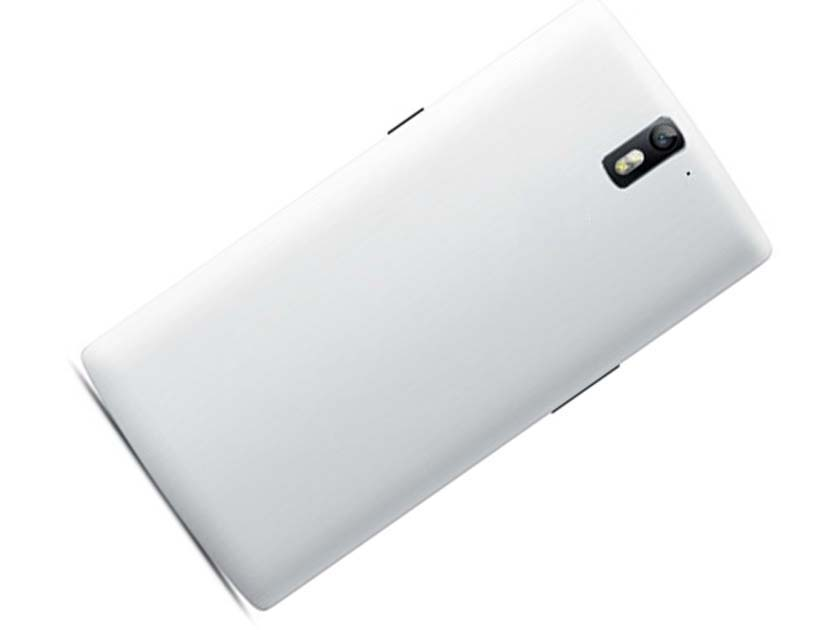 Battery Cover Back Housing Cover for Oneplus one - White