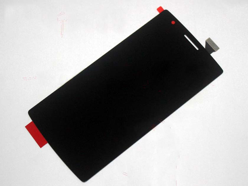 LCD Screen and Touch Screen Assembly for Oneplus one - Black