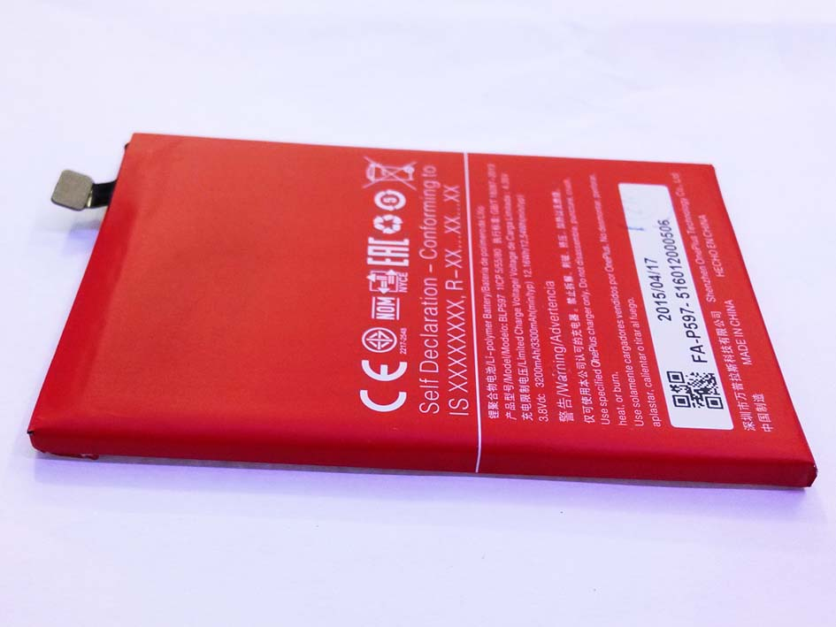 BLP597 3300mAH Built-in Battery for Oneplus 2 (Note: seller guarantee)