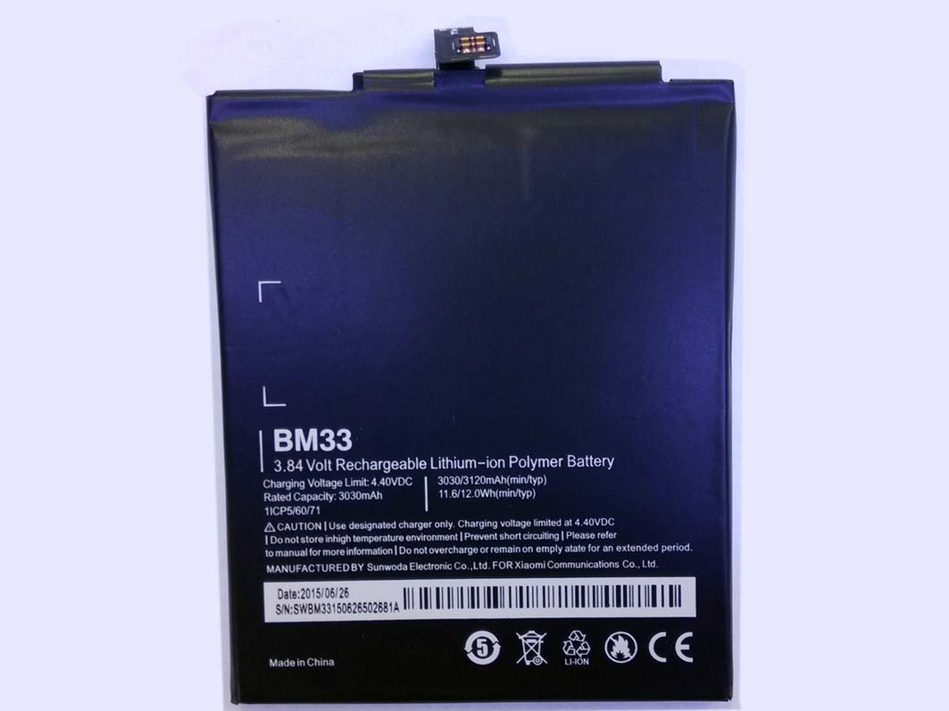 OEM 3030mAh BM33 Built-in Battery for xiaomi 4i