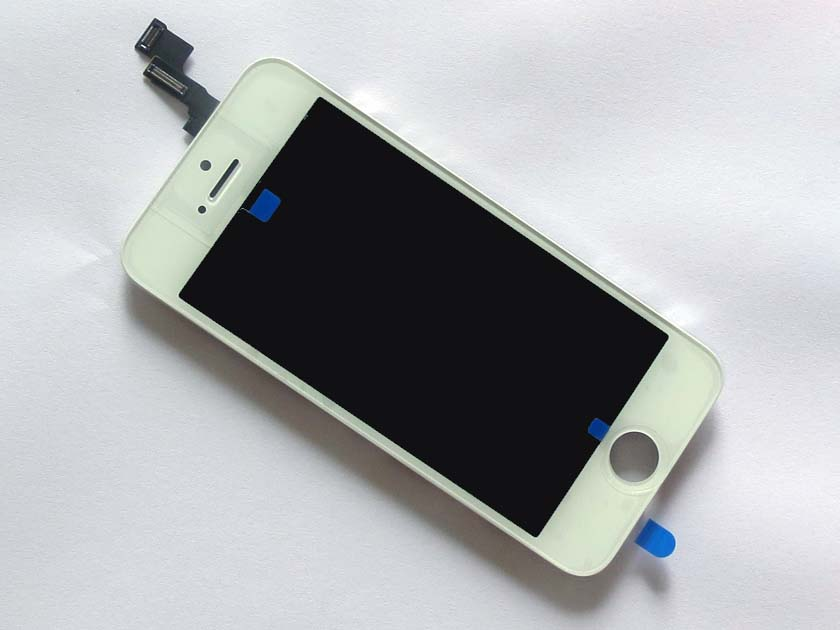 Complete Screen Assembly with Bezel for iPhone 5S -White