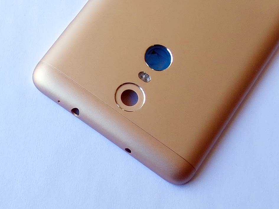 Original MTK X10 version Battery Cover Back Housing Cover for Redmi Note3-Gold