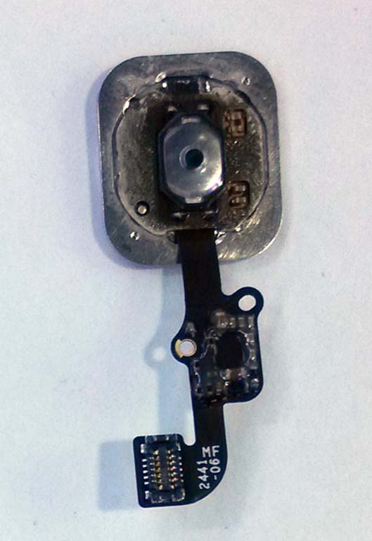 Home Button Flex Cable Assembly Fix for iPhone 6 & 6 Plus - Silver