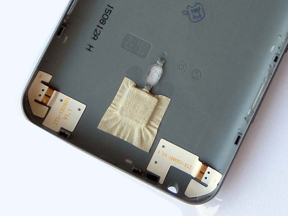 Original Battery Cover Back Housing Cover with side button Meilan Note 2 -Gray