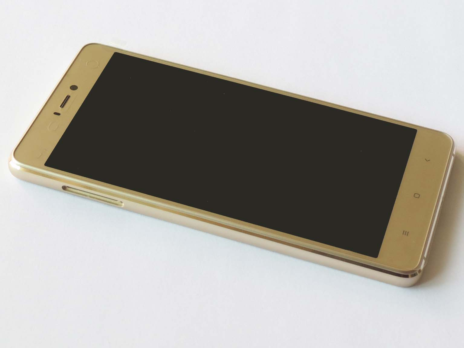 Original Complete screen with front housing for Xiaomi 4s–Gold