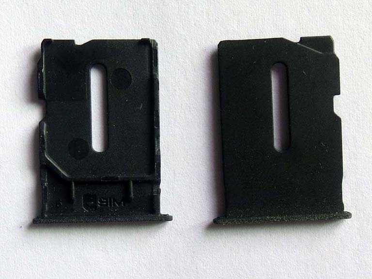 Micro Sim Card Slot Tray Holder for Oneplus one - Black