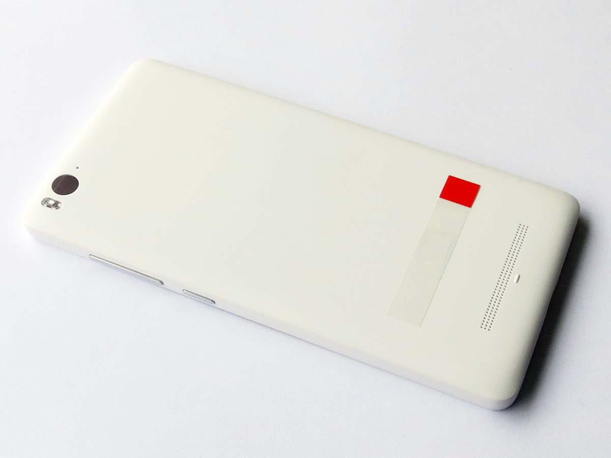 Original Battery Cover Back Housing Cover with side button for Xiaomi 4c-White