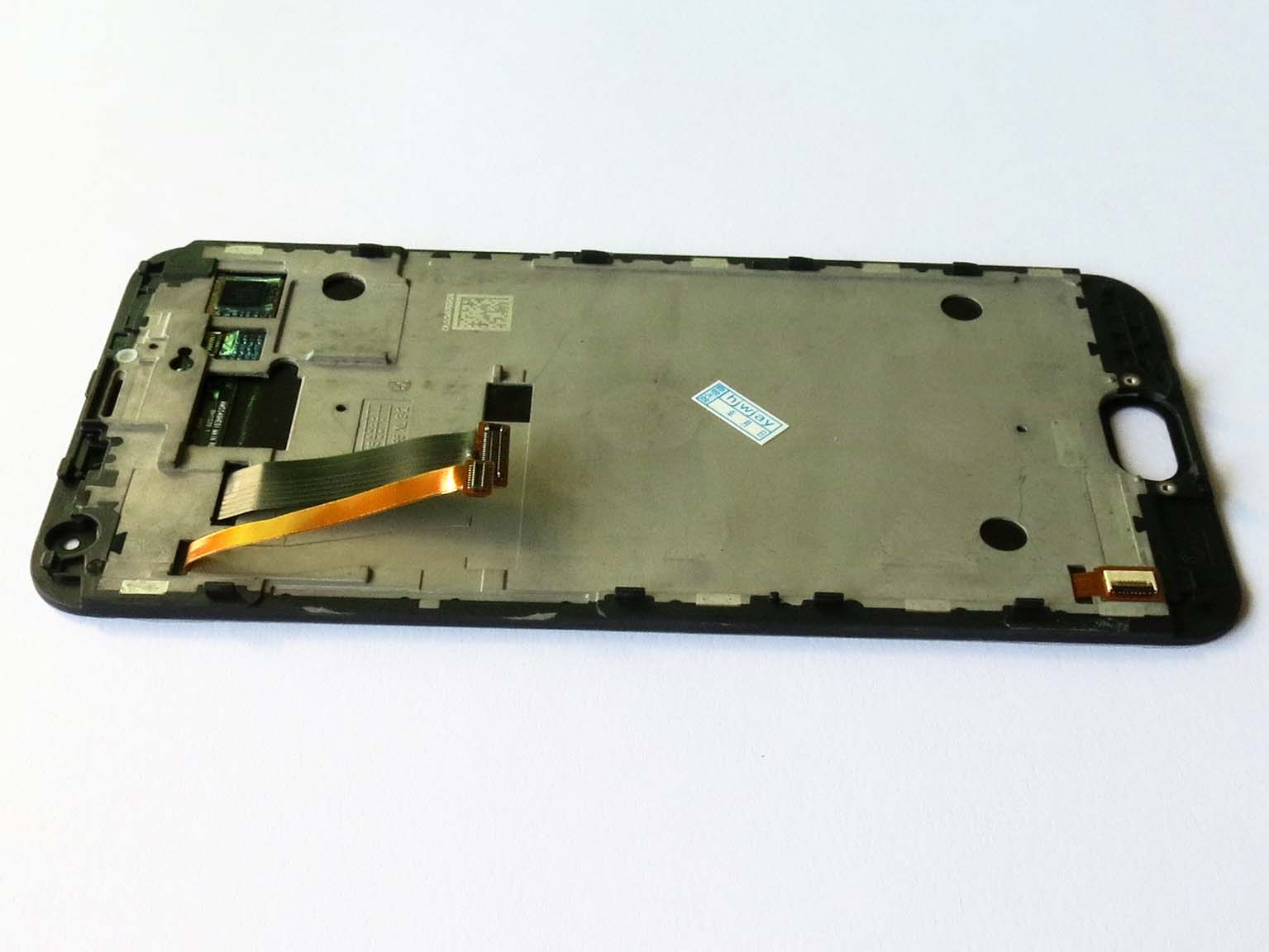 Original Complete screen with front housing for Meizu MX5 Black
