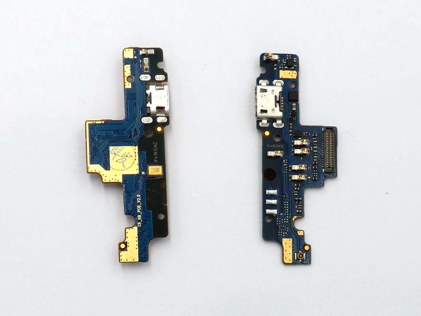 Original USB plug charge board with micorphone for snapdragon 625 Redmi note 4X