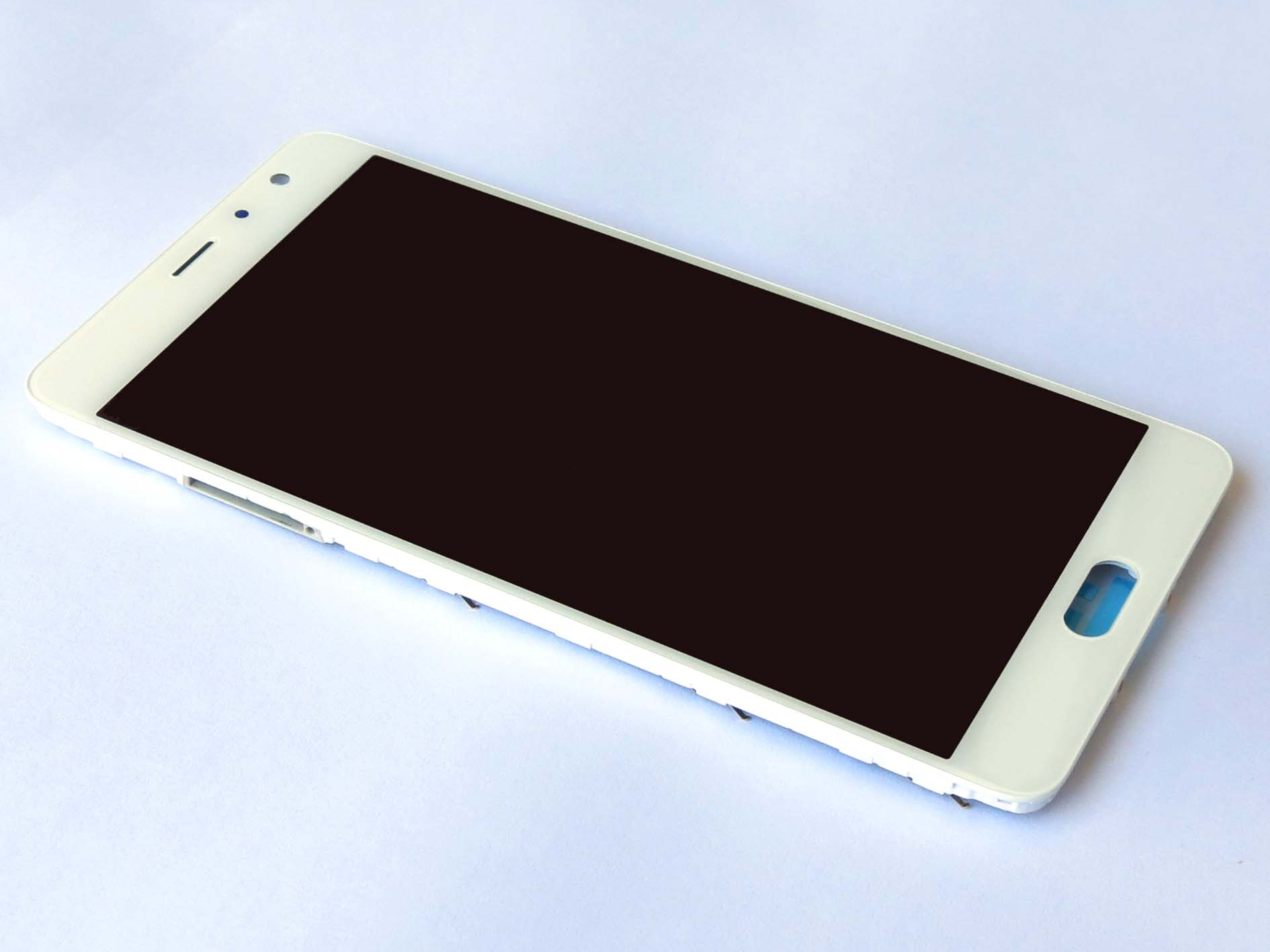 Original Complete screen with front housing for Redmi Pro – white