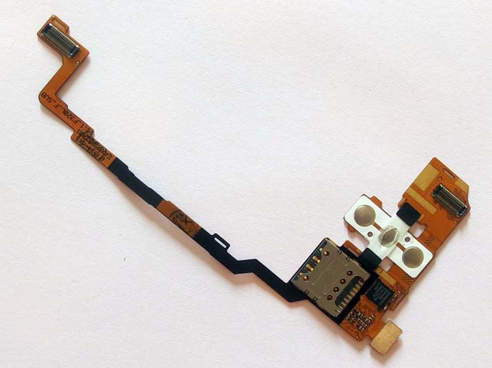 LG G2 F320 SIM card holder & Volume and Power Button Flex Cable