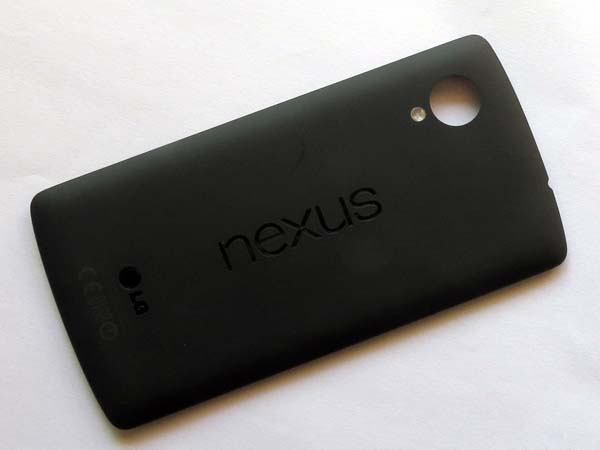 Back cover for LG Nexus 5 D820 - Black