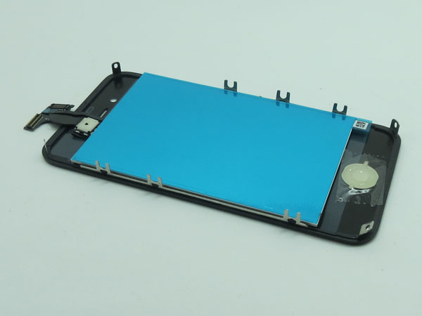 Conversion kit iPhone 4s - silver metalic(non mirror LCD)