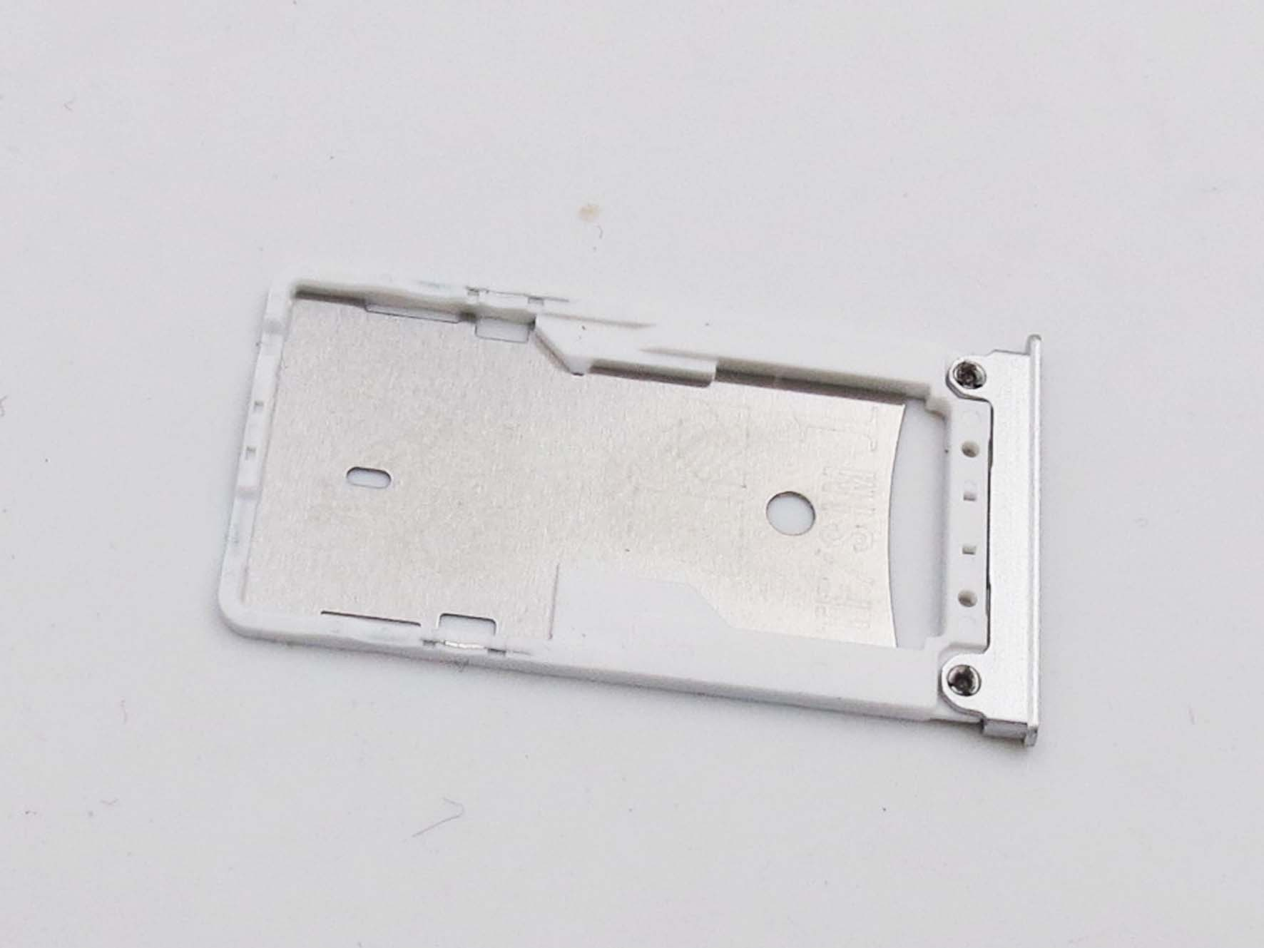 Original Dual Sim Card Slot Tray Holder for xiaomi max mi max- Silver