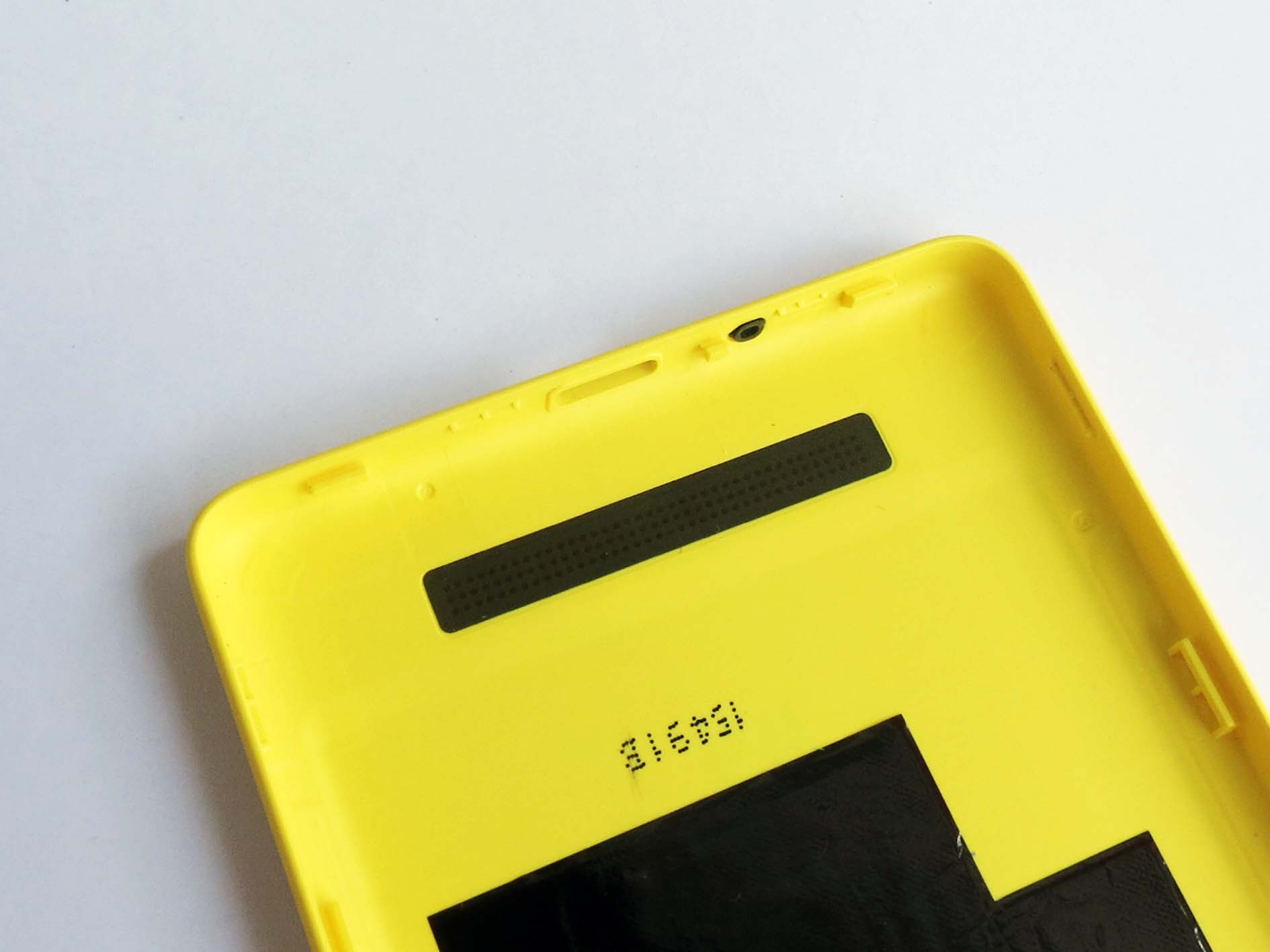 Original Battery Cover Back Housing Cover with side button for Xiaomi 4c- yellow