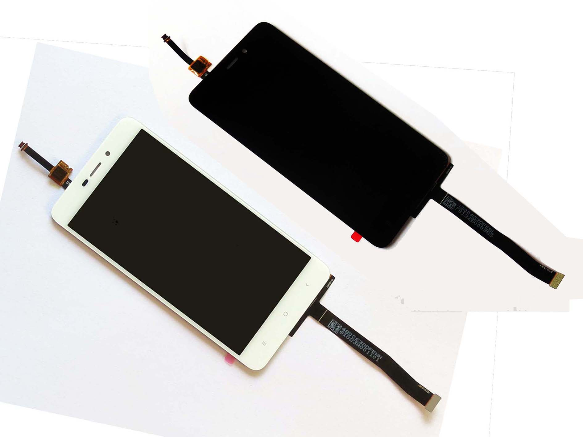 Original LCD display Touch Screen and Digitizer Assembly for Redmi 4A – Black & White