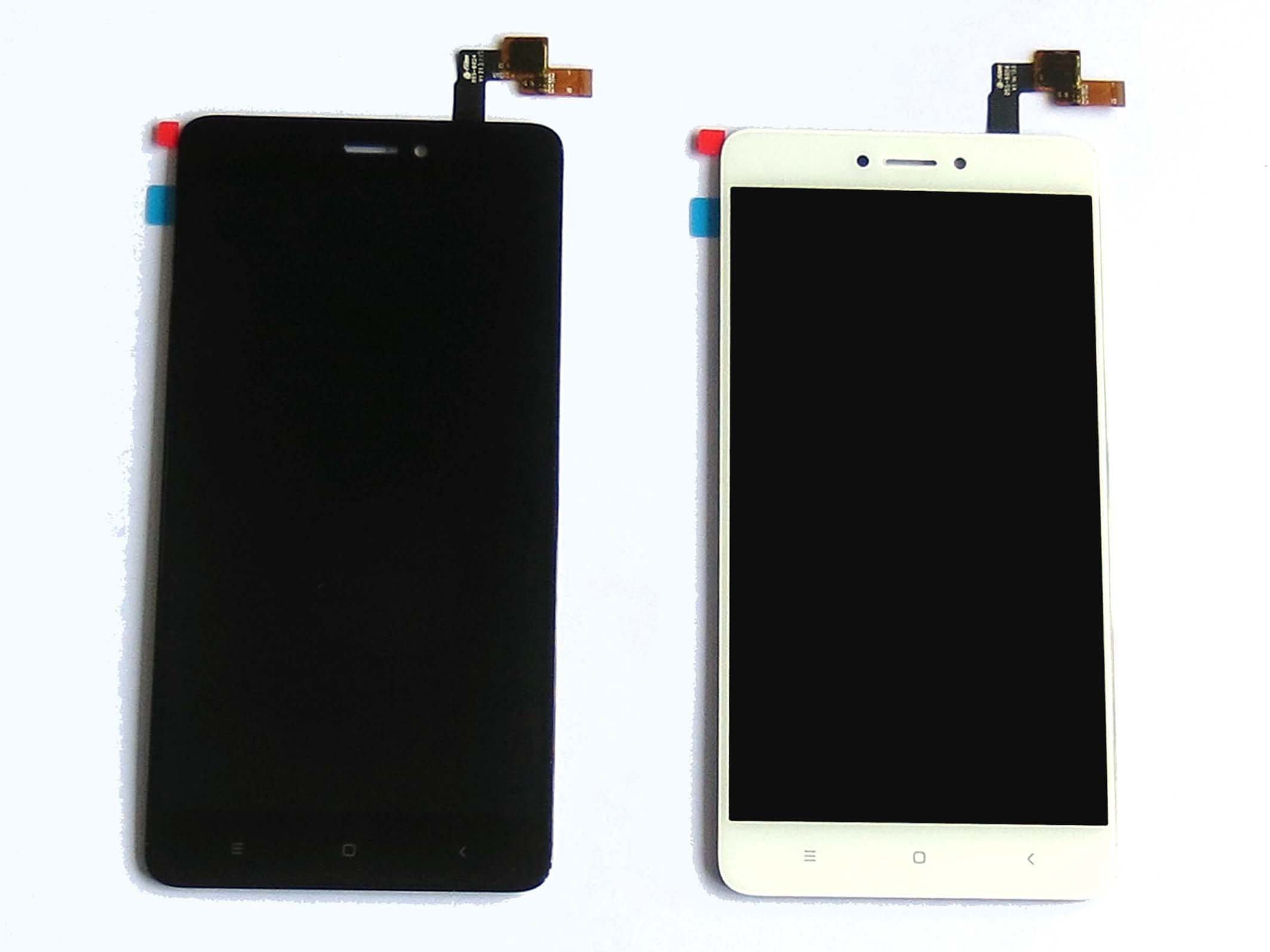 Original LCD Touch Screen Digitizer Assembly for Snapdragon version Redmi note 4X – Black & White