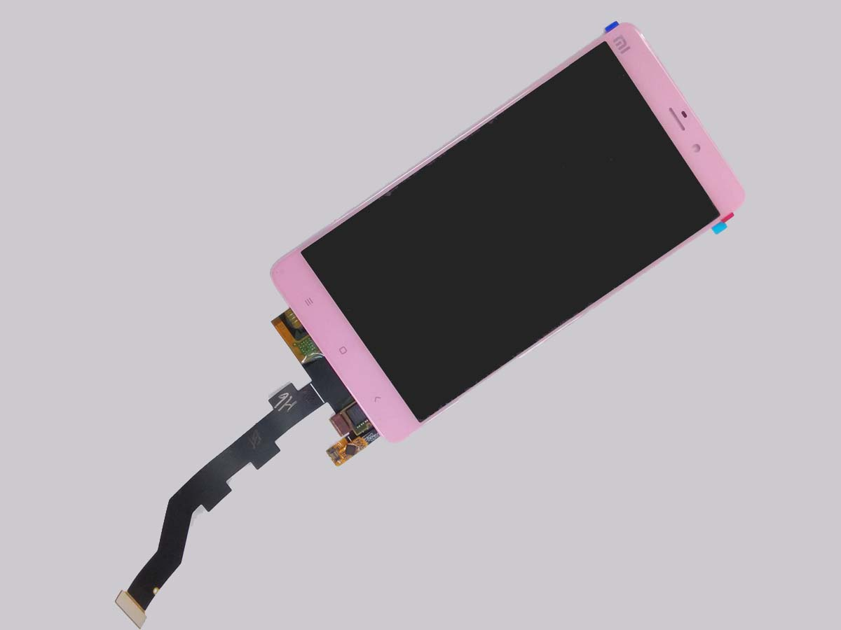 LCD Touch Screen Digitizer Assembly for xiaomi MI Note - Pink