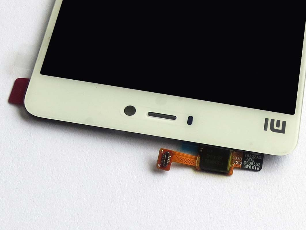 Original LCD Screen and Touch Screen Assembly for Xiaomi 4s Mi4s -White