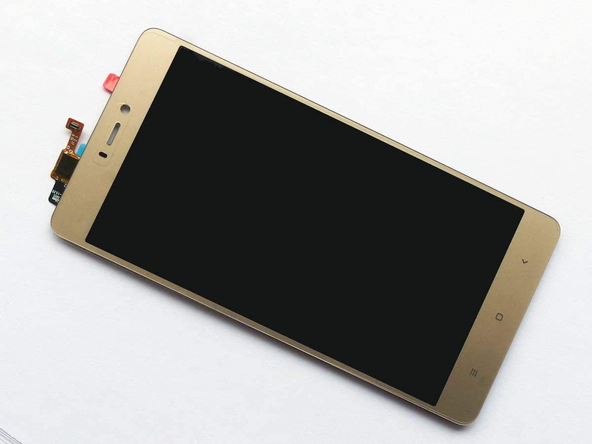 Original LCD Screen and Touch Screen Assembly for Xiaomi 4s Mi4s -gold