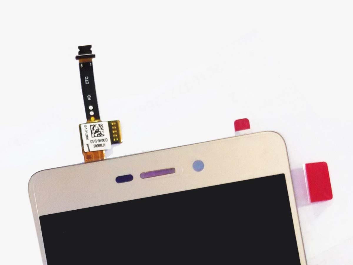 Original LCD Touch Screen Digitizer Assembly for Redmi 3 Hongmi 3 - Gold