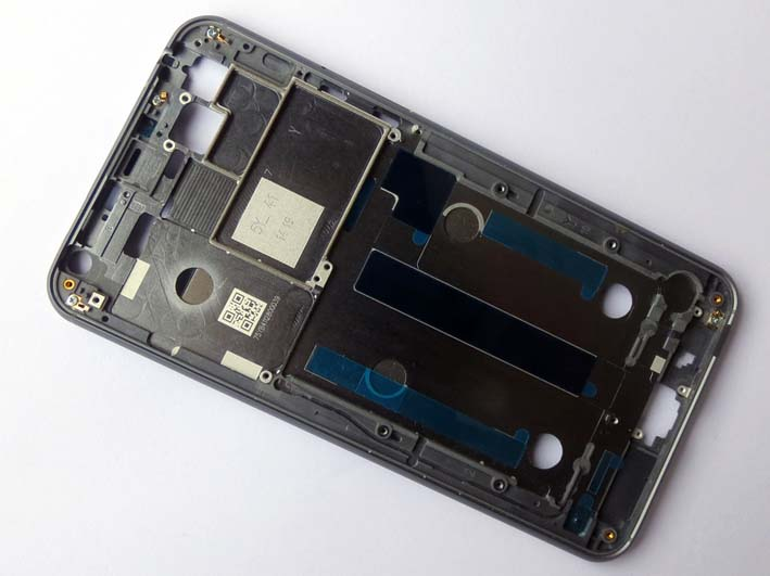 Front housing for Meizu MX4- Black