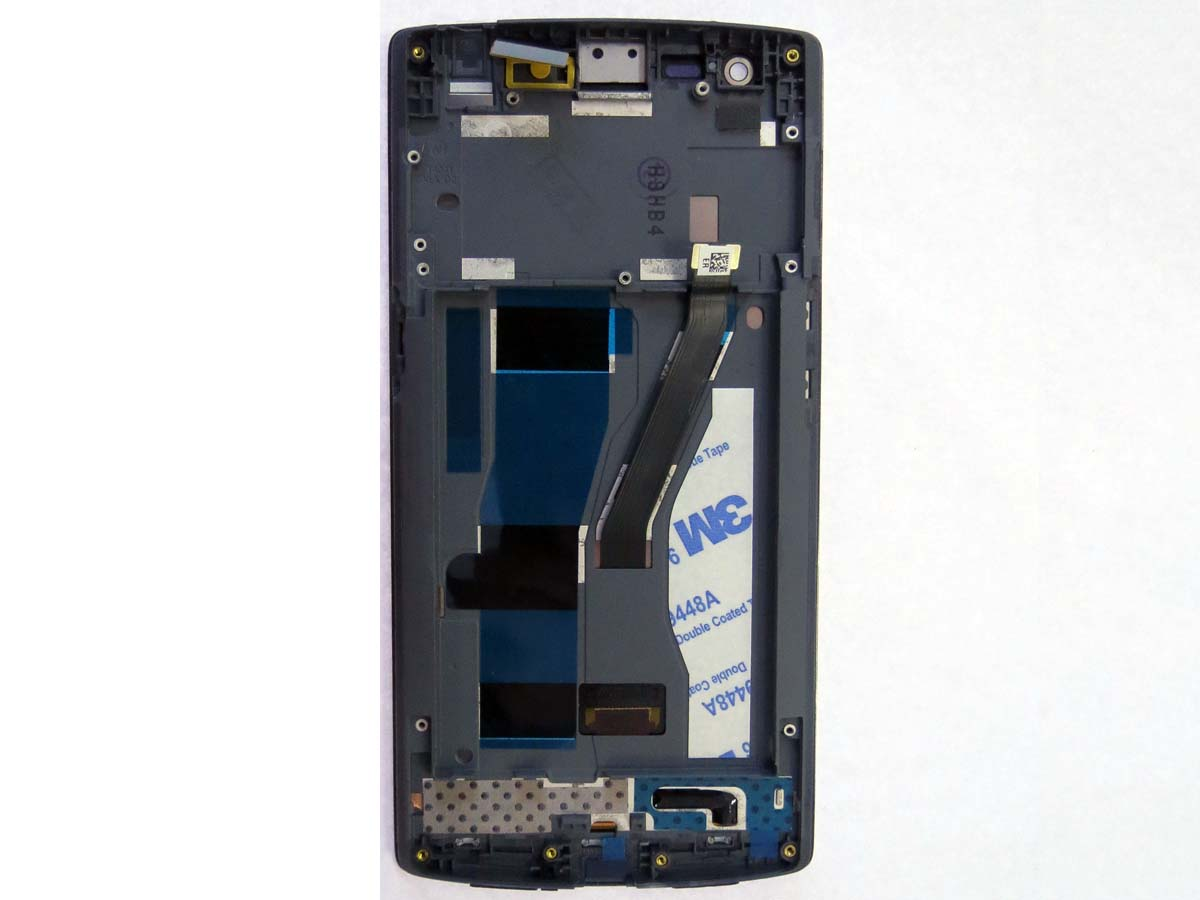 Complete screen with front housing for Oneplus one