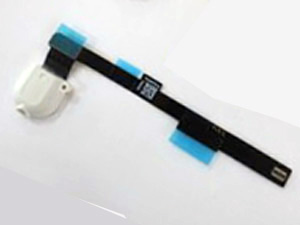 Headphone Audio Flex Cable Replacement for iPad Mini - White