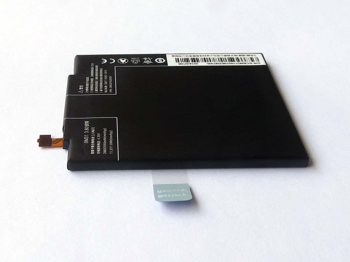 Original 3050mAh BM31 battery for Xiaomi Mi3( Sent by sweden post only)