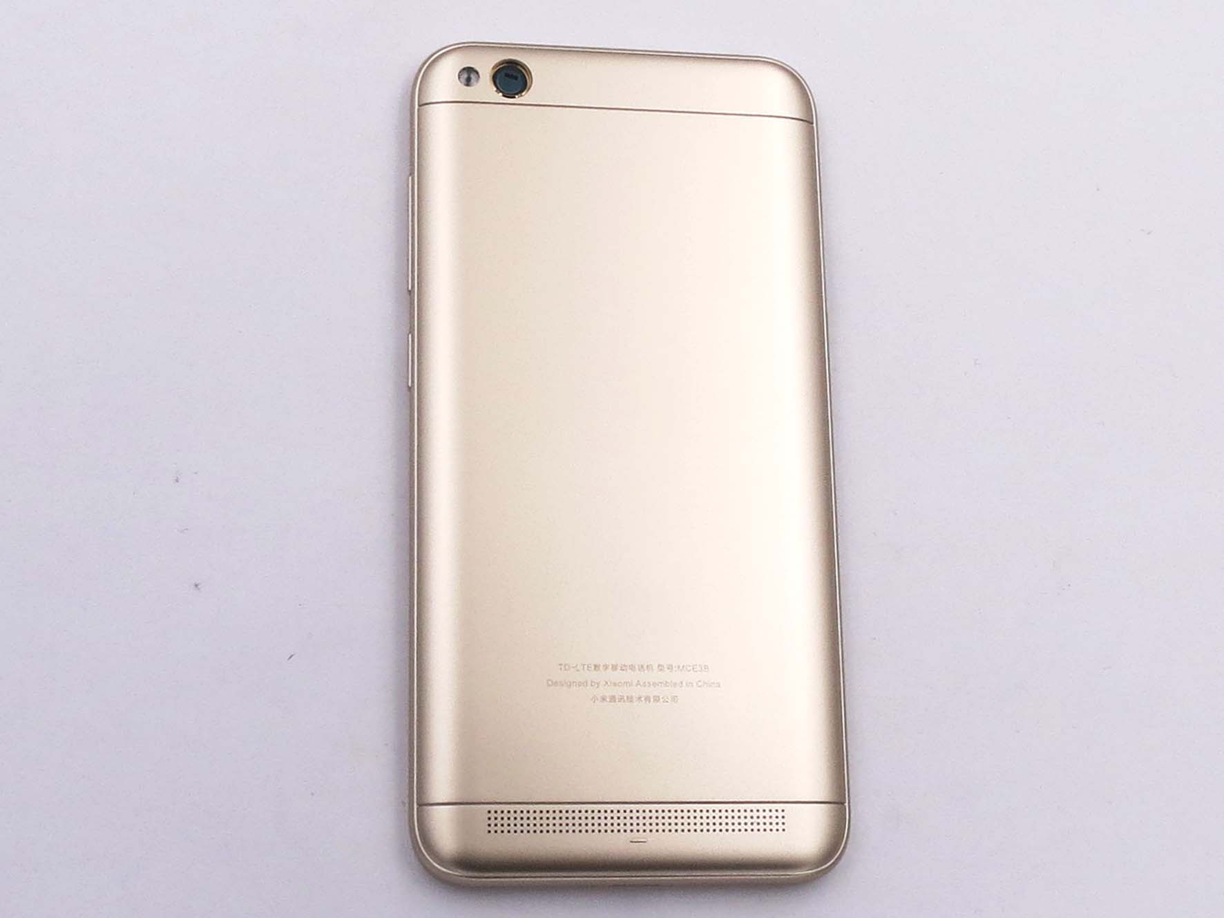 Original Battery Cover Back Housing Cover for Redmi 5A- Gold