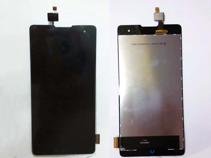LCD Display Screen and Touch Screen Assembly for ZTE V5 MAX N958ST - Black