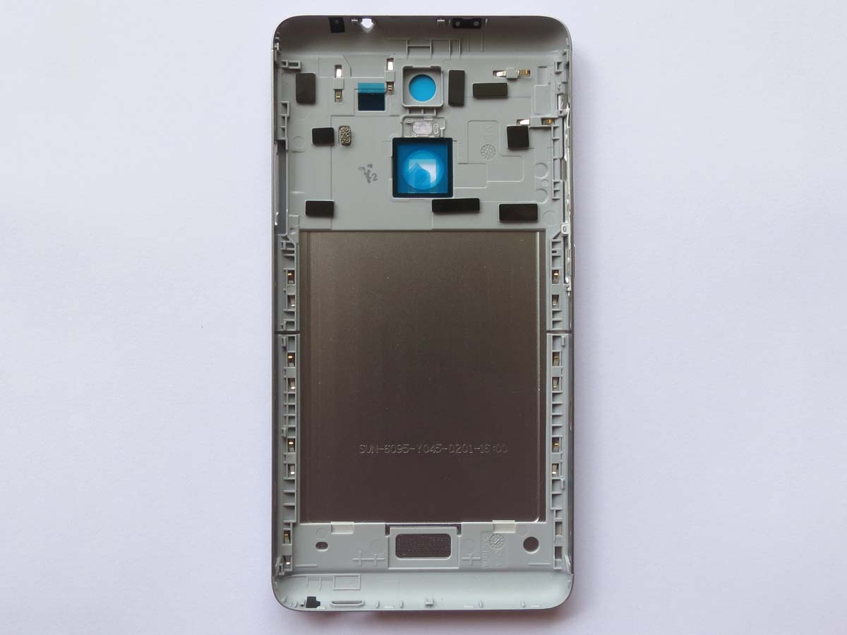 Snapdragon 650 version Battery Cover Back Housing Cover for Redmi Note3-Gray
