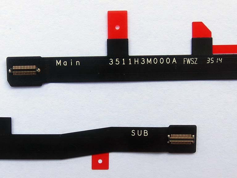 Main Ribbon flex cable FPC for xiaomi Redmi note 4G -single Card version