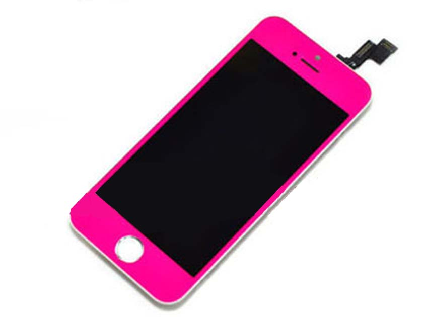 Replacement LCD Touch screen digitizer Assembly for iPhone 5s Hot Pink