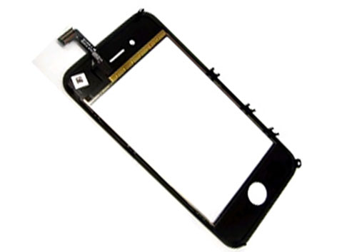 Touch screen with frame for iPhone 4 black