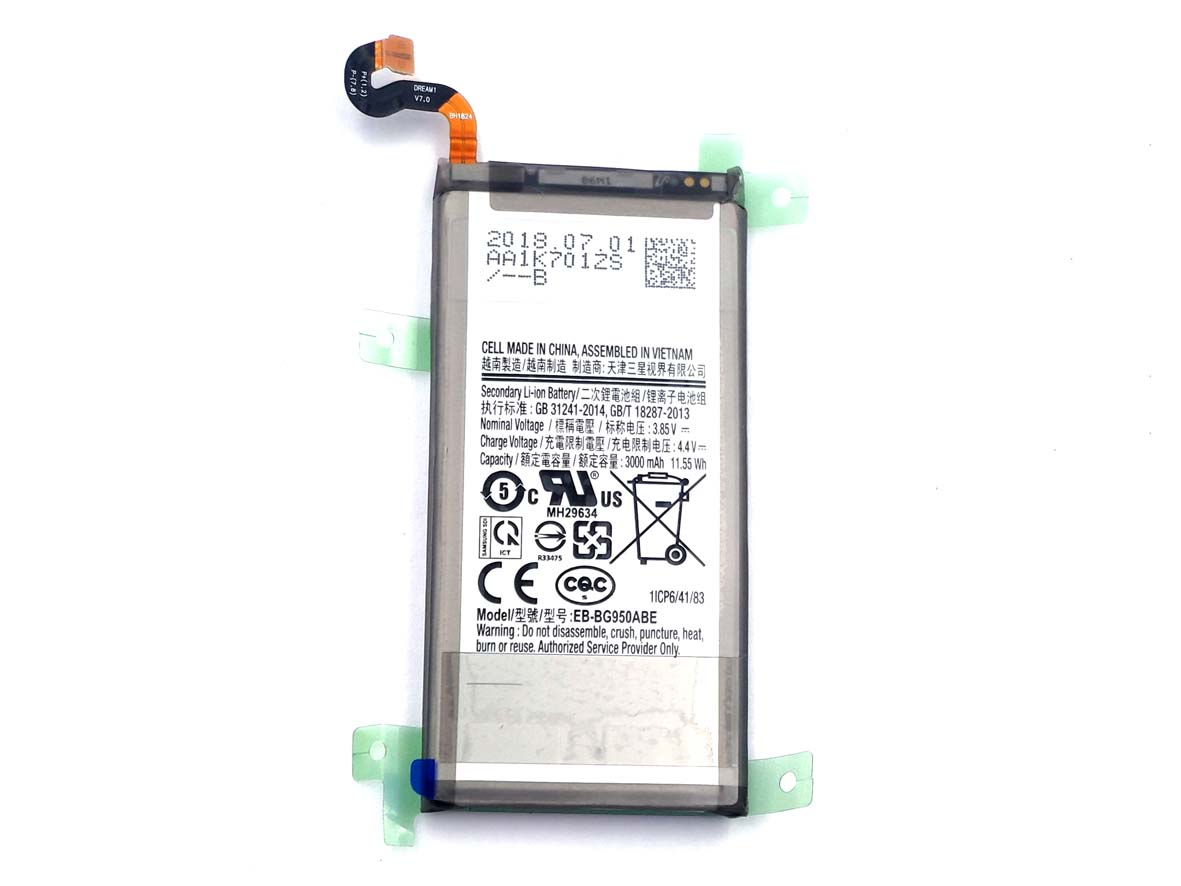 Original Complete screen with front housing for Xiaomi 4C -95% new