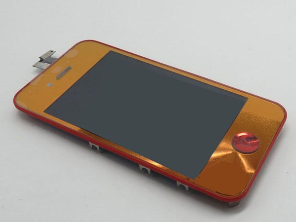 Conversion kit iPhone 4g - red metalic(non mirror LCD)