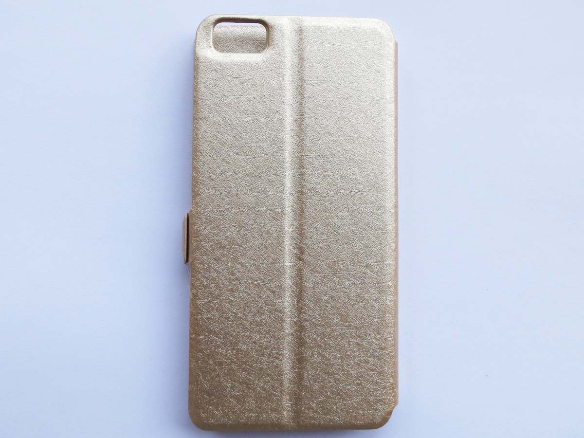 View Open Window Flip Leather Case for Xiaomi 5-Gold